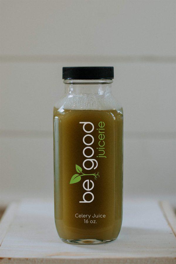 celery juice from be good juicerie