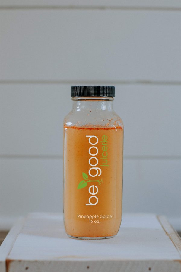 pineapple spice from be good juicerie