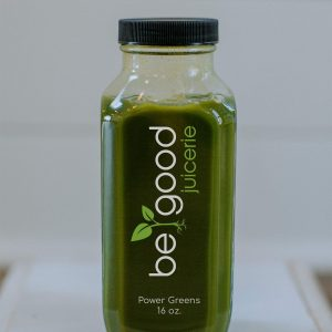 power greens from be good juicerie