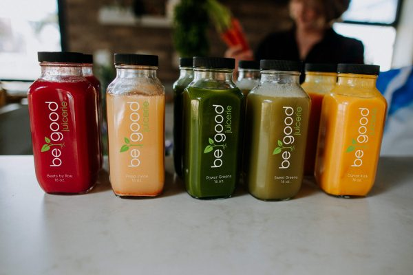 be good cold-pressed juice lineup